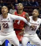 Gallery NCAA Women's Basketball; AAC Tournament QF's - #2 Temple 67 vs. #10 Houston 58 (36)