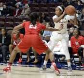 Gallery NCAA Women's Basketball; AAC Tournament QF's - #2 Temple 67 vs. #10 Houston 58 (51)
