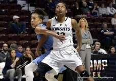 Gallery NCAA Women's Basketball; AAC Tournament QF's - #4 UCF 61 vs. #5 Tulane 57 (10)