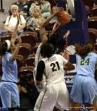 Gallery NCAA Women's Basketball; AAC Tournament QF's - #4 UCF 61 vs. #5 Tulane 57 (13)