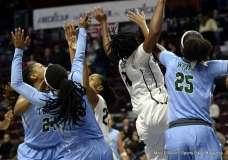 Gallery NCAA Women's Basketball; AAC Tournament QF's - #4 UCF 61 vs. #5 Tulane 57 (44)