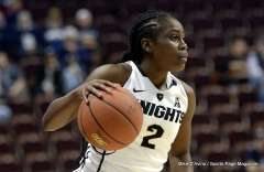 Gallery NCAA Women's Basketball; AAC Tournament QF's - #4 UCF 61 vs. #5 Tulane 57 (45)