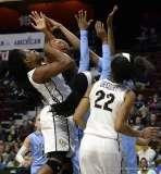 Gallery NCAA Women's Basketball; AAC Tournament QF's - #4 UCF 61 vs. #5 Tulane 57 (49)