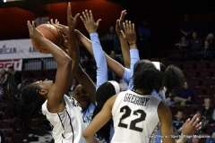 Gallery NCAA Women's Basketball; AAC Tournament QF's - #4 UCF 61 vs. #5 Tulane 57 (50)
