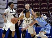 Gallery NCAA Women's Basketball; AAC Tournament QF's - #4 UCF 61 vs. #5 Tulane 57 (57)