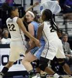 Gallery NCAA Women's Basketball; AAC Tournament QF's - #4 UCF 61 vs. #5 Tulane 57 (8)
