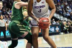 NCAA Women's Basketball AAC Tournament Semifinals - #1 UConn 81 vs. #5 USF 45 (102)