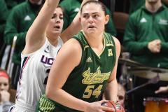 NCAA Women's Basketball AAC Tournament Semifinals - #1 UConn 81 vs. #5 USF 45 (106)