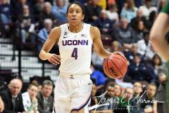 NCAA Women's Basketball AAC Tournament Semifinals - #1 UConn 81 vs. #5 USF 45 (107)