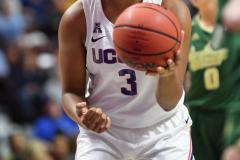 NCAA Women's Basketball AAC Tournament Semifinals - #1 UConn 81 vs. #5 USF 45 (108)