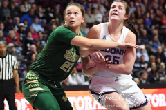 NCAA Women's Basketball AAC Tournament Semifinals - #1 UConn 81 vs. #5 USF 45 (109)
