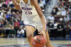NCAA Women's Basketball AAC Tournament Semifinals - #1 UConn 81 vs. #5 USF 45 (110)
