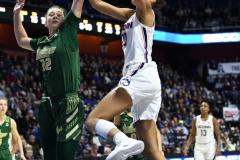 NCAA Women's Basketball AAC Tournament Semifinals - #1 UConn 81 vs. #5 USF 45 (111)