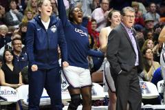 NCAA Women's Basketball AAC Tournament Semifinals - #1 UConn 81 vs. #5 USF 45 (112)