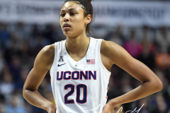 NCAA Women's Basketball AAC Tournament Semifinals - #1 UConn 81 vs. #5 USF 45 (113)