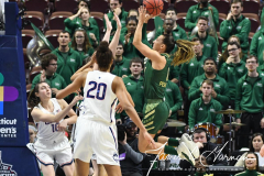 NCAA Women's Basketball AAC Tournament Semifinals - #1 UConn 81 vs. #5 USF 45 (114)