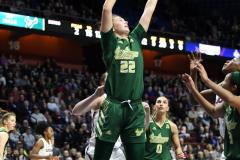 NCAA Women's Basketball AAC Tournament Semifinals - #1 UConn 81 vs. #5 USF 45 (116)