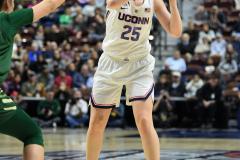 NCAA Women's Basketball AAC Tournament Semifinals - #1 UConn 81 vs. #5 USF 45 (117)