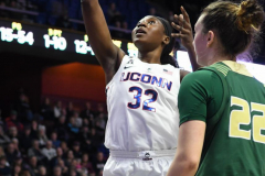 NCAA Women's Basketball AAC Tournament Semifinals - #1 UConn 81 vs. #5 USF 45 (119)