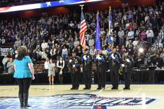 NCAA Women's Basketball AAC Tournament Semifinals - #1 UConn 81 vs. #5 USF 45 (12)