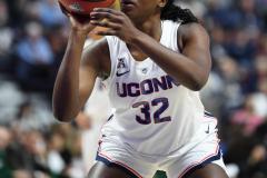NCAA Women's Basketball AAC Tournament Semifinals - #1 UConn 81 vs. #5 USF 45 (120)