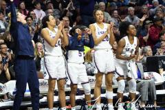 NCAA Women's Basketball AAC Tournament Semifinals - #1 UConn 81 vs. #5 USF 45 (123)