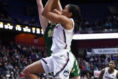 NCAA Women's Basketball AAC Tournament Semifinals - #1 UConn 81 vs. #5 USF 45 (124)