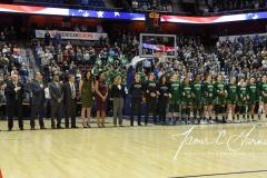 NCAA Women's Basketball AAC Tournament Semifinals - #1 UConn 81 vs. #5 USF 45 (13)