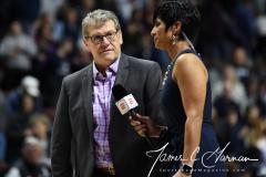 NCAA Women's Basketball AAC Tournament Semifinals - #1 UConn 81 vs. #5 USF 45 (132)