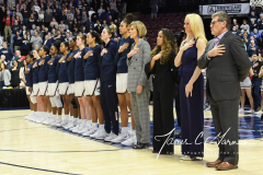 NCAA Women's Basketball AAC Tournament Semifinals - #1 UConn 81 vs. #5 USF 45 (14)