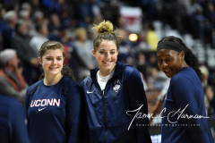 NCAA Women's Basketball AAC Tournament Semifinals - #1 UConn 81 vs. #5 USF 45 (19)