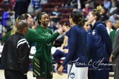 NCAA Women's Basketball AAC Tournament Semifinals - #1 UConn 81 vs. #5 USF 45 (2)