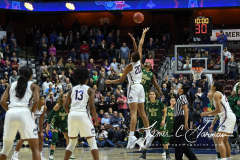 NCAA Women's Basketball AAC Tournament Semifinals - #1 UConn 81 vs. #5 USF 45 (23)