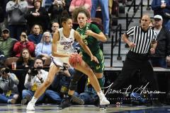 NCAA Women's Basketball AAC Tournament Semifinals - #1 UConn 81 vs. #5 USF 45 (24)