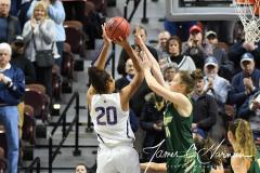 NCAA Women's Basketball AAC Tournament Semifinals - #1 UConn 81 vs. #5 USF 45 (25)