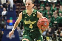 NCAA Women's Basketball AAC Tournament Semifinals - #1 UConn 81 vs. #5 USF 45 (26)