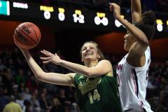 NCAA Women's Basketball AAC Tournament Semifinals - #1 UConn 81 vs. #5 USF 45 (28)