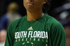 NCAA Women's Basketball AAC Tournament Semifinals - #1 UConn 81 vs. #5 USF 45 (3)