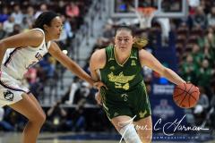 NCAA Women's Basketball AAC Tournament Semifinals - #1 UConn 81 vs. #5 USF 45 (30)
