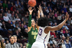 NCAA Women's Basketball AAC Tournament Semifinals - #1 UConn 81 vs. #5 USF 45 (31)