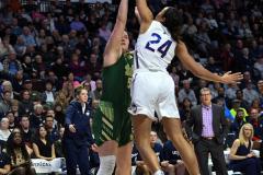 NCAA Women's Basketball AAC Tournament Semifinals - #1 UConn 81 vs. #5 USF 45 (32)