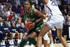 NCAA Women's Basketball AAC Tournament Semifinals - #1 UConn 81 vs. #5 USF 45 (33)