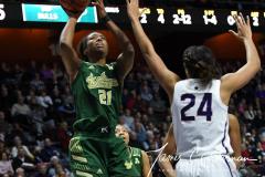 NCAA Women's Basketball AAC Tournament Semifinals - #1 UConn 81 vs. #5 USF 45 (38)