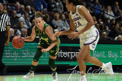 NCAA Women's Basketball AAC Tournament Semifinals - #1 UConn 81 vs. #5 USF 45 (39)
