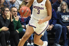 NCAA Women's Basketball AAC Tournament Semifinals - #1 UConn 81 vs. #5 USF 45 (41)
