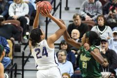 NCAA Women's Basketball AAC Tournament Semifinals - #1 UConn 81 vs. #5 USF 45 (45)