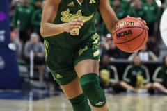 NCAA Women's Basketball AAC Tournament Semifinals - #1 UConn 81 vs. #5 USF 45 (51)