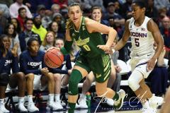 NCAA Women's Basketball AAC Tournament Semifinals - #1 UConn 81 vs. #5 USF 45 (52)