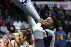 NCAA Women's Basketball AAC Tournament Semifinals - #1 UConn 81 vs. #5 USF 45 (54)