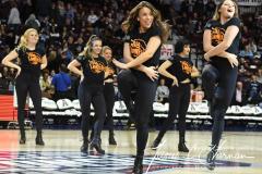 NCAA Women's Basketball AAC Tournament Semifinals - #1 UConn 81 vs. #5 USF 45 (55)